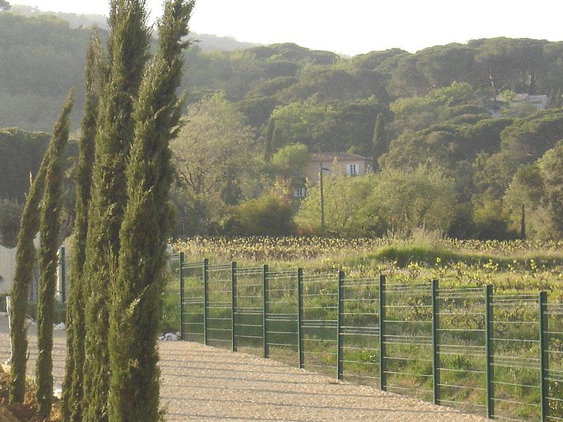 Clotures et barrieres jardinier paysagiste saint tropez for Entretien jardin obligation